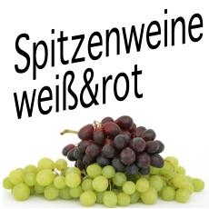 Spitzenweine weiß & rot