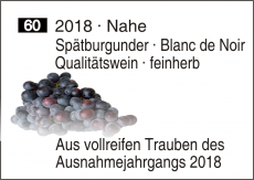 2018 Nahe Spätburgunder · Blanc de Noir