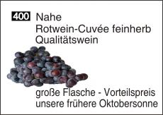 Nahe Rotwein-Cuvée feinherb