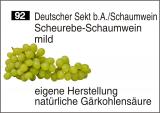 Scheurebe-Schaumwein mild